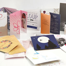 Invitations, faire-parts, cartes